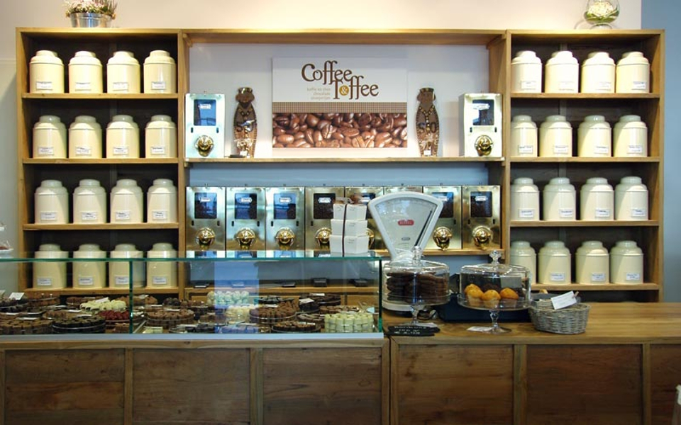 Coffee & Toffe winkel