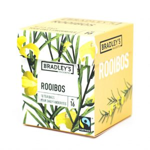 Rooibos thee verpakt